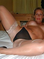 slut granny stocking pics